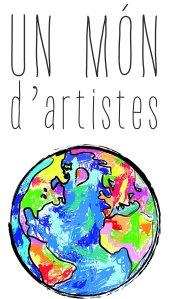 un mó—n d'artistes logo